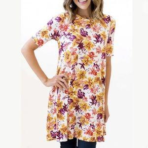 Agnes & Dora | Tunic Shirt Swing Dress Pockets